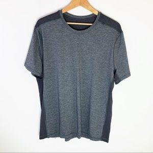 Lululemon Mens Athletic Gray Athletic Shirt XXL